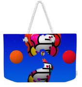 The Sky At Night Weekender Tote Bag
