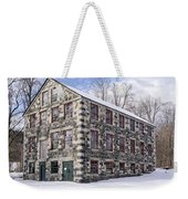 The Stone Mill At The Enfield Shaker Museum Weekender Tote Bag
