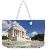 The Us Supreme Court Building Weekender Tote Bag