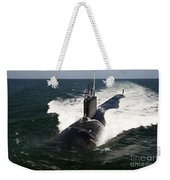 The Virginia-class Attack Submarine Uss Weekender Tote Bag
