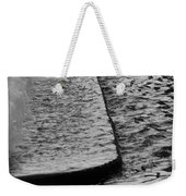The Water Fountain In Black And White Weekender Tote Bag
