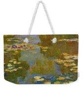The Water Lily Pond Weekender Tote Bag