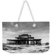 The West Pier In Brighton Weekender Tote Bag
