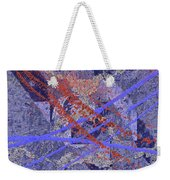 The Writing On The Wall 10 Weekender Tote Bag