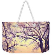 The Yesterday Bench Weekender Tote Bag