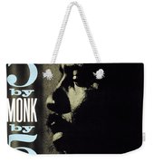 Thelonious Monk -  5 By Monk By 5 Weekender Tote Bag