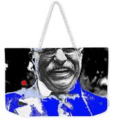 Theodore Roosevelt Charlie Duprez Photo Oyster Bay New York 1912-2013 Weekender Tote Bag