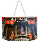 Thien Hau Temple A Taoist Temple In Chinatown Of Los Angeles. Weekender Tote Bag