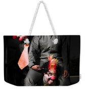 Three Clowns Having Fun Weekender Tote Bag