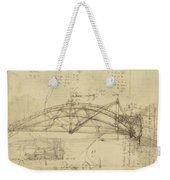 Three Kinds Of Movable Bridge Weekender Tote Bag