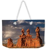 Three Sisters Hoodoos Goblin Valley Utah Weekender Tote Bag