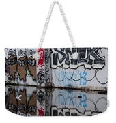 Three Skulls Graffiti Weekender Tote Bag