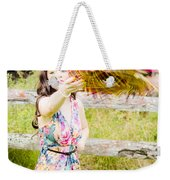 Throw Your Hat Into The Ring Weekender Tote Bag