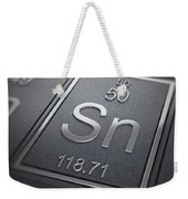 Tin Chemical Element Weekender Tote Bag