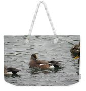 Tiny Duck Cleaning 3 Weekender Tote Bag