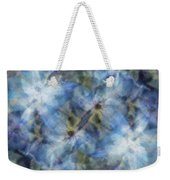 Tissue Paper Blues Weekender Tote Bag