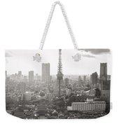 Tokyo Tower Square Weekender Tote Bag