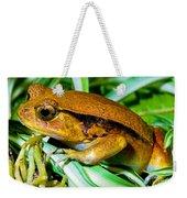 Tomato Frog Weekender Tote Bag