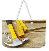 Tools Weekender Tote Bag by Les Cunliffe