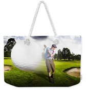 Top Flight Golf Weekender Tote Bag