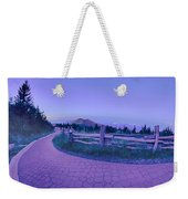 Top Of Mount Mitchell After Sunset Weekender Tote Bag