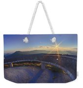 Top Of Mount Mitchell Before Sunset Weekender Tote Bag