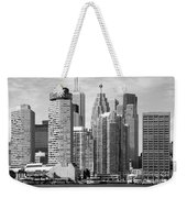 Toronto On Skyline Weekender Tote Bag