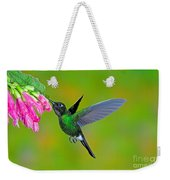 Tourmaline Sunangel Hummingbird Weekender Tote Bag
