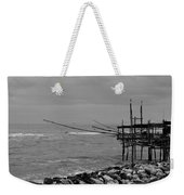 Trabocco On The Coast Of Italy  Weekender Tote Bag