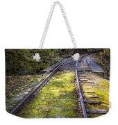 Tracks Along The River Weekender Tote Bag