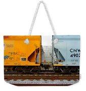 Train Cars 2 Weekender Tote Bag