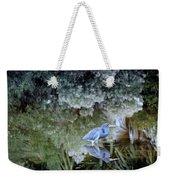 Tri Colored Heron Weekender Tote Bag