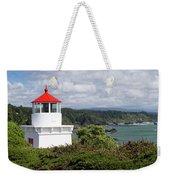 Trinidad Head Light House On The Coast Weekender Tote Bag