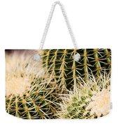 Triple Cactus Weekender Tote Bag