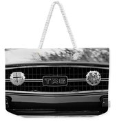 Triumph Tr 6 Grille Emblem Weekender Tote Bag