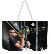 Musician Trombone Shorty Weekender Tote Bag