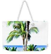Tropical Palm Trees Weekender Tote Bag