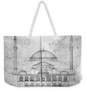 Turkey: Hagia Sophia, 1830s Weekender Tote Bag