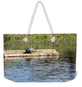 Turtle Float Weekender Tote Bag