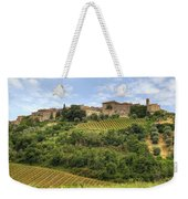 Tuscany - Castelnuovo Dell'abate Weekender Tote Bag