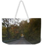 Twice The Speed Of Autumn Weekender Tote Bag