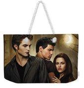 Twilight  Kristen Stewart And Robert Pattinson Artwork 2 Weekender Tote Bag