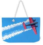 Twin Engine Plane  Weekender Tote Bag