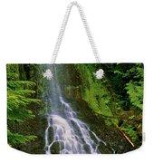 Twin Falls Creek Mount Rainier Weekender Tote Bag