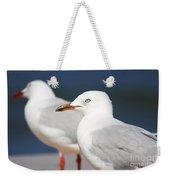 Two Boardwalk Gulls Weekender Tote Bag