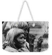 Two Elderly Apache Women Labor Day Rodeo White River Arizona 1969 Weekender Tote Bag