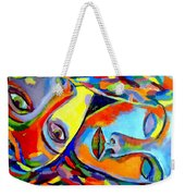 Two Energies Weekender Tote Bag