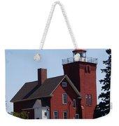 Two Harbors Lighthouse Weekender Tote Bag