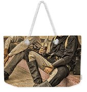 Two Of A Kind Weekender Tote Bag by Priscilla Burgers