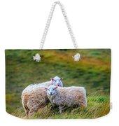 Two Sheep Weekender Tote Bag